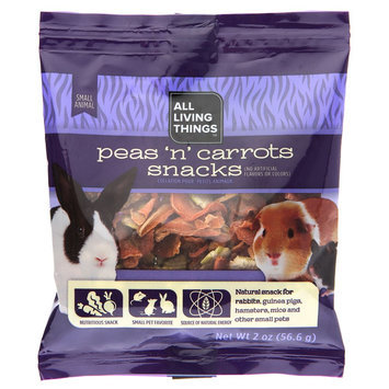 All Living Things® Peas 'N' Carrots Small Animal Meal Topping size: 2 Oz