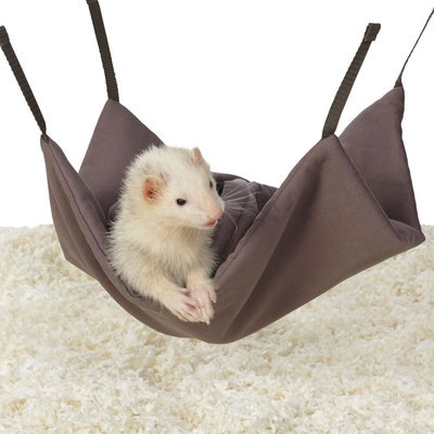 All Living Things® Ferret Snuggle Sack, Brown