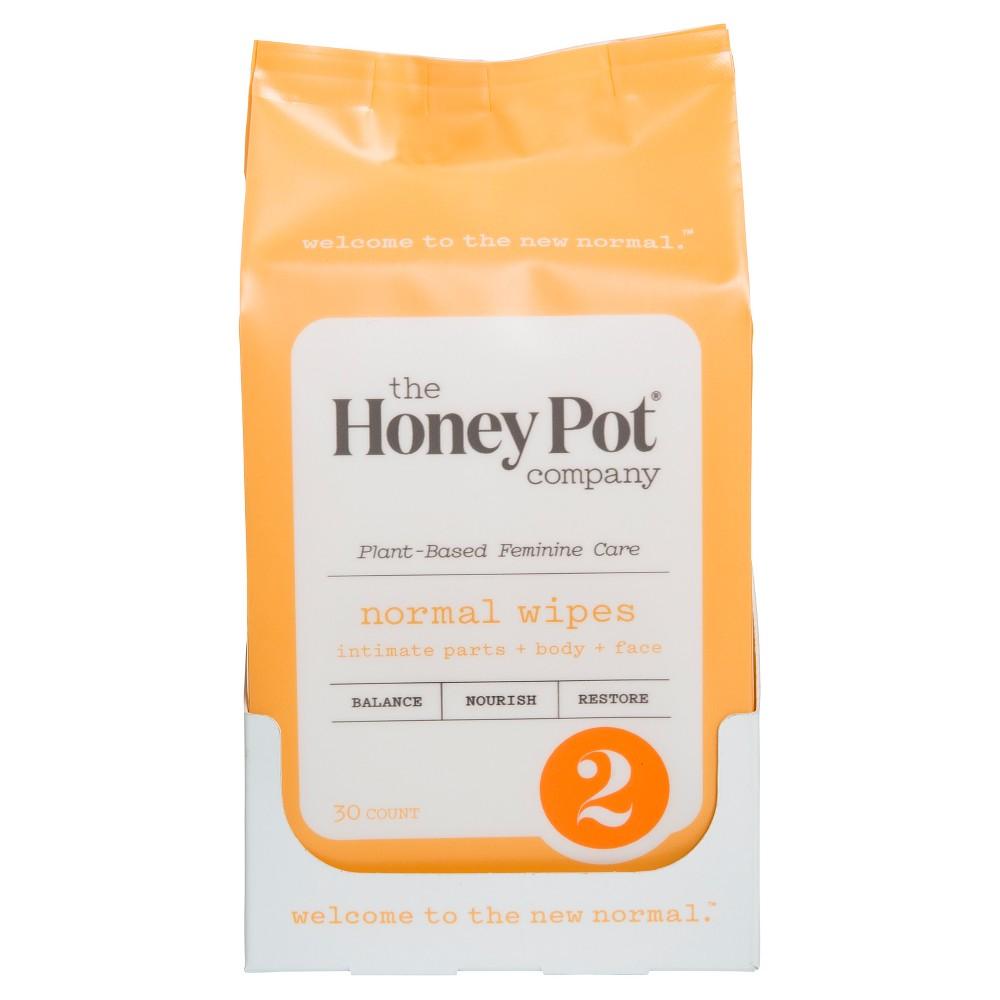Honey Pot Personal Wipe - 30 ct