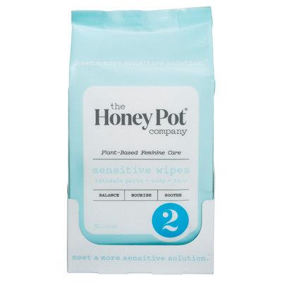 Honey Pot Personal Wipe Sensitive -30 ct