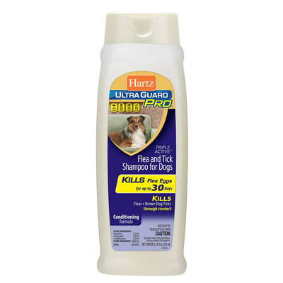 Hartz Ultra Guard Pro Triple Action Flea and Tick Shampoo