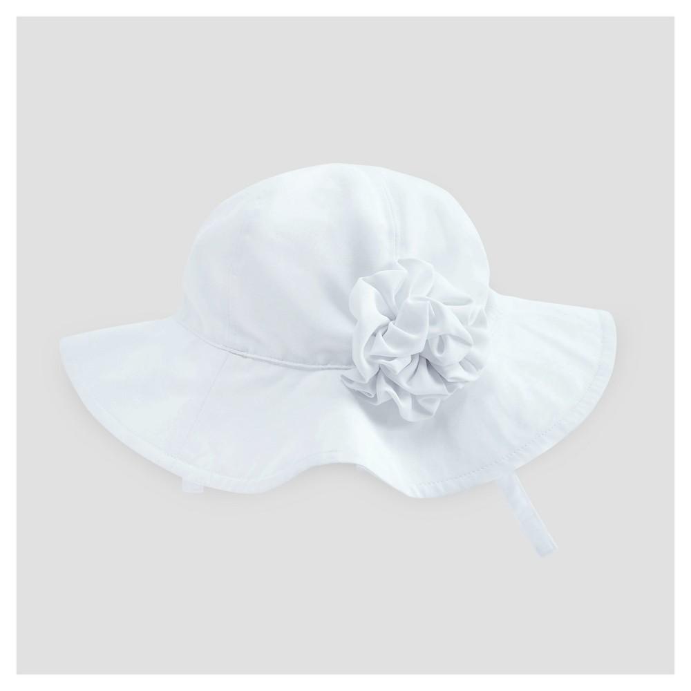 Baby Girls' Floppy Hat Cat & Jack - White 12-18 M
