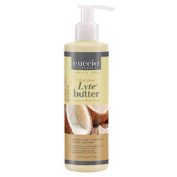 Cuccio Naturale Lyte Coconut & White Ginger Ultra Sheer Body Butter 8oz