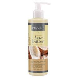 Cuccio Naturale Lyte Coconut & White Ginger Ultra Sheer Body Butter 8oz