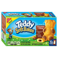 Nabisco Teddy Soft Bakes Chocolate Filling 6ct 6.36 oz