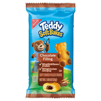 Nabisco Teddy Soft Bakes Chocolate Filling Single 1.06 oz