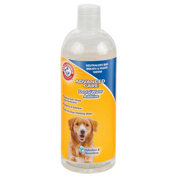 Arm & Hammer ARM and Hammer, Advanced Care Dog Dental Water Additive size: 16 Fl Oz