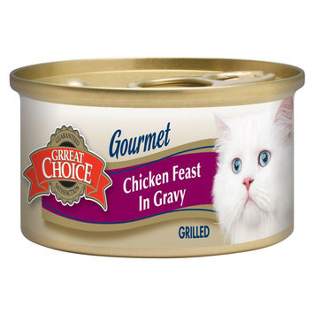 Grreat Choice® Grilled Adult Cat Food size: 3 Oz