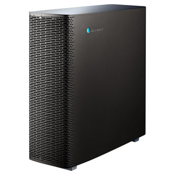 BlueAir - 11 X 24 X 23 - Air Purifier - White, Black