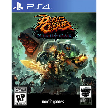 Nordic Games Na, Inc. Battle Chasers: Nightwar Playstation 4 [PS4]
