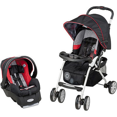 Evenflo Featherlite 200 with Embrace35 Travel System, Gears