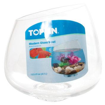 Top Fin® Modern Betta Glass Bowl size: 153.6 Fl Oz
