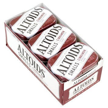 Wrigley Altoids Smalls Sugar Free Cinnamon Mints 0.37 oz 9 Count