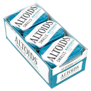 Wrigley Altoids Smalls Sugar Free Wintergreen Mints 0.37 oz 9 Count