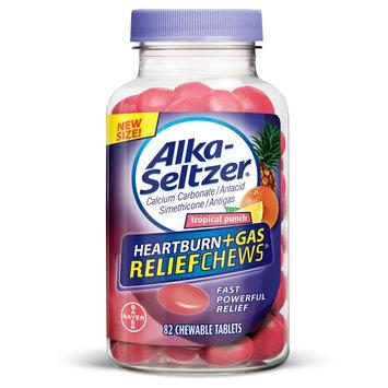 Alka Seltzer Heartburn Relief & Acid Reducer Fruit Chewable - 90ct