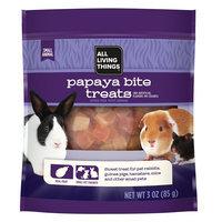 All Living Things® Papaya Bite Small Animal Treat size: 3 Oz