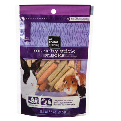 All Living Things® Munchy Stick Small Animal Snack size: 3.5 Oz