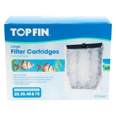 Top Fin® Aquarium Filter Cartridge size: Large