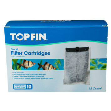 Top Fin® Aquarium Filter Cartridge size: Small