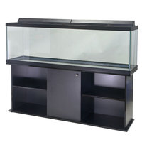 Top Fin® 125 Gallon Aquarium Ensemble, Black