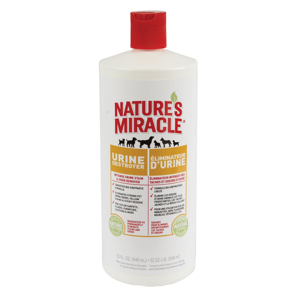 Nature's Miracle® Urine Destroyer Pet Stain and Odor Remover size: 32 Fl Oz