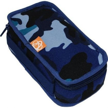 Ecocozie E1R01B01 Reusable Rectangle Food Container - Blue Camo