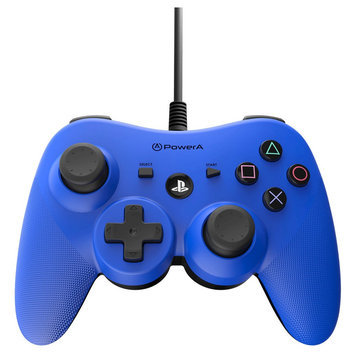 Power A PS3 Controller Wired Blue Playstation 3