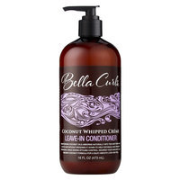 Bella Curls Coconut Whipped Creme Leave-In Conditioner - 16 Fl Oz