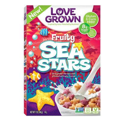 Love Grown Foods Sea Stars Fruity 7 oz