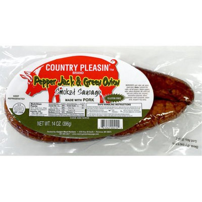 Country Pleasin' Pepper Jack & Green Onion Smoked Sausage