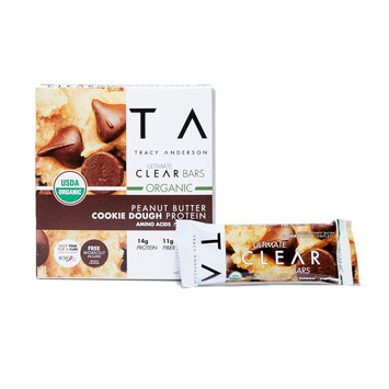 Tracy Anderson Method Tracy Anderson Ultimate Clear Organic Bars Peanut Butter - 5Ct