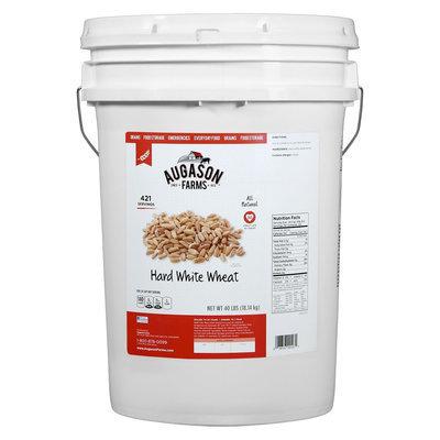 Augason Farms Hard White Wheat 6-gallon Pail