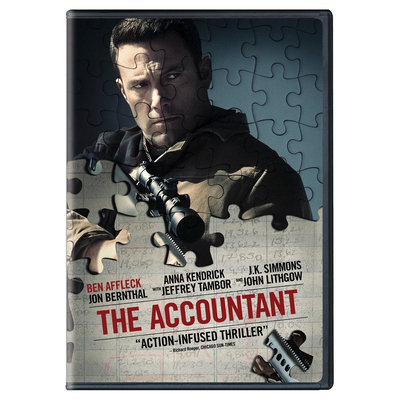 The Accountant (Dvd), Movies