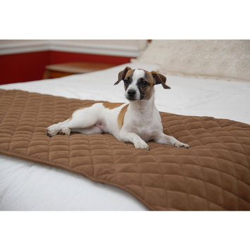 Carolina Pet Company Small Chocolate Quilted Bed Scarf 02141