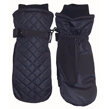 N'Ice Caps Kids Thinsulate and Waterproof Quilted Ski Mittens