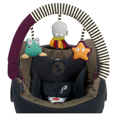 Mamas & Papas Sensory Development Toy Travel Arch - Multi-Colored