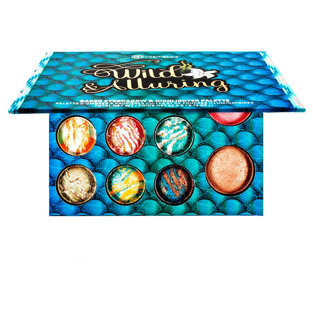 BH Cosmetics Wild & Alluring Eyeshadow and Highlighter Palette 11 Colors, Multi-Colored