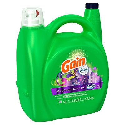 Gain 2X Moonlight Breeze Hec Liquid Laundry Detergent, 72ld, 150oz