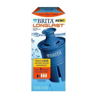 Brita Longlast Filter - 1 count, White