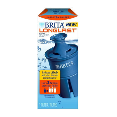 Brita Longlast Filter - 1 count, White