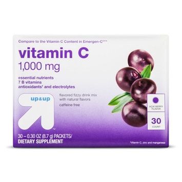 Vitamin C 1000mg Drink Mix Berry 30ct - up & up