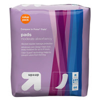 Incontinence Liners - Regular Length - Moderate Absorbancy - 66 ct - up & up, White