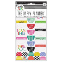 Create 365 Stickers Good Day Brights-Asst Colors/Sizes, Multi-Colored