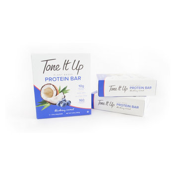 Tone It Up Protein Bars Blueberry Coconut - 12ct