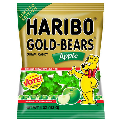 Haribo Gold-Bears Apple Gummi Candy