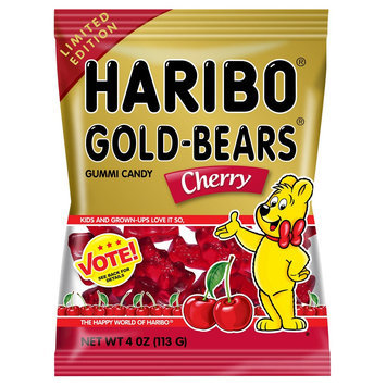 Haribo Gold-Bears Cherry Gummi Candy
