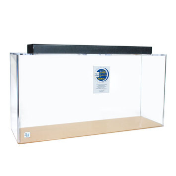 Clear-For-Life 100 Gallon Rectangle Aquarium size: 100 gal, Clear