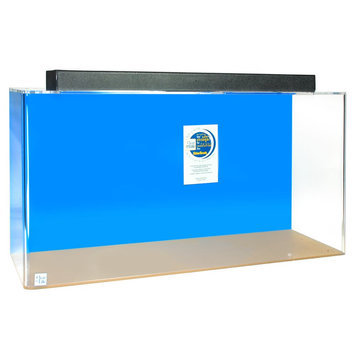 Clear-For-Life 125 Gallon Rectangle UniQuarium size: 125 gal, Blue