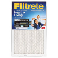 Filtrete - 14 in x 14 in x 1 in - Ultra Allergen Air Filter - White