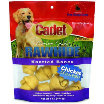 Ims Trading Corp IMS Trading Rawhide Chicken Flavor Knotted Bones, 1 lb